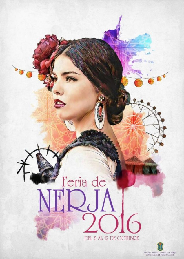 Nerja Turismo - Fiestas - Feria - Cartel 2016