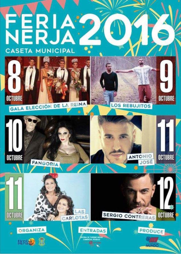 Nerja Turismo - Fiestas - Feria - Caseta