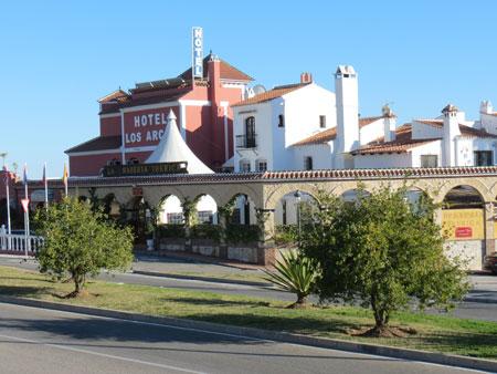 Nerja Turismo - Hoteles en Nerja - Hotel Los Arcos