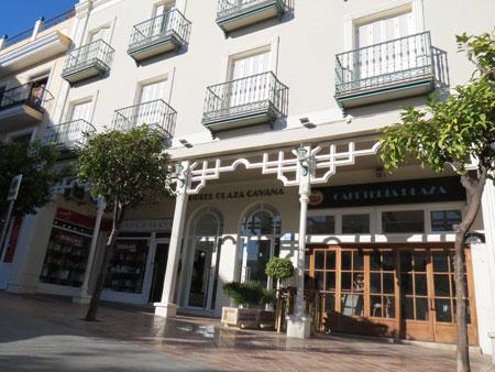 Nerja Turismo - Hoteles en Nerja - Hotel Plaza Cavana