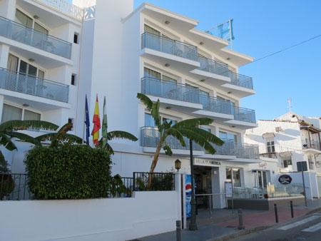 Nerja Turismo - Hoteles en Nerja - Hotel Villa Flamenca