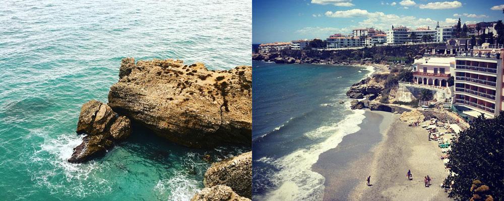 Playa Caletilla - Bajo el Balcon de Europa