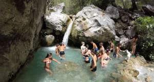 Nerja Turismo - Ruta del Rio Chillar - 10 Vado de los Patos