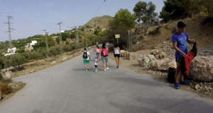 Nerja Turismo - Ruta del Rio Chillar - 2 Seguir Recto