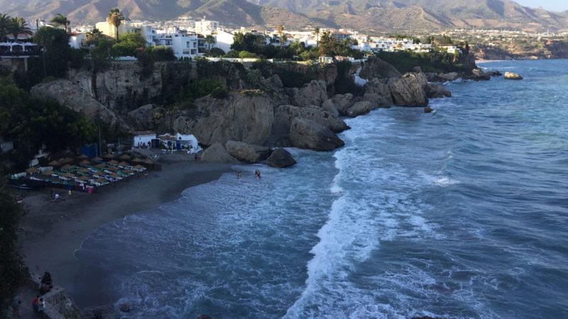 Playas revueltas