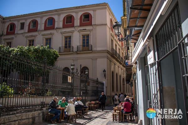 Calle san Agustin en Malaga
