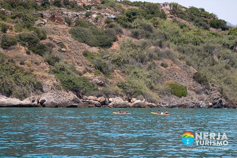 Kayak en Nerja - Burriana