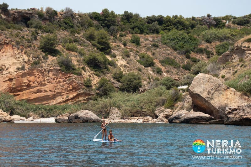 Paddle surf en burriana (Nerja)